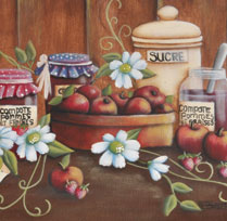 Compote de pommes et de fraises de Mamie