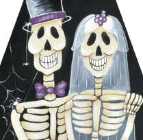 Les mariés Oscar et Squellie !