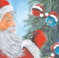 La touche du Père Noël