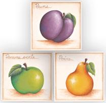 Trio de fruits