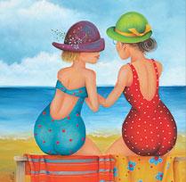 Commères de plage