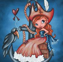 Perlette, pirate rêveuse !