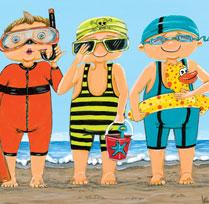 Prêts pour la plage !