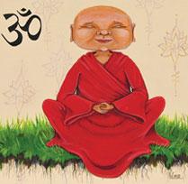 Le moine zen