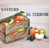 La caisse de pommes